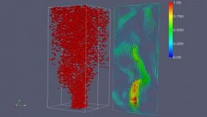 Predicción de la eficiencia de separación natural en fondo de pozo mediante una correlación